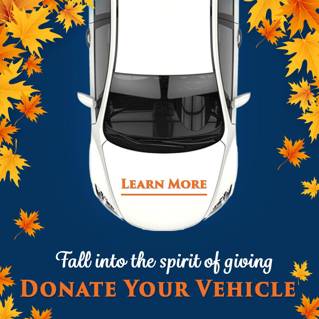 Fall donate vehicle