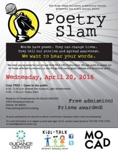 Youth Poetry Slam 2016